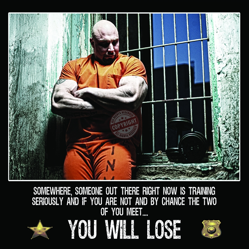 police workout poster
