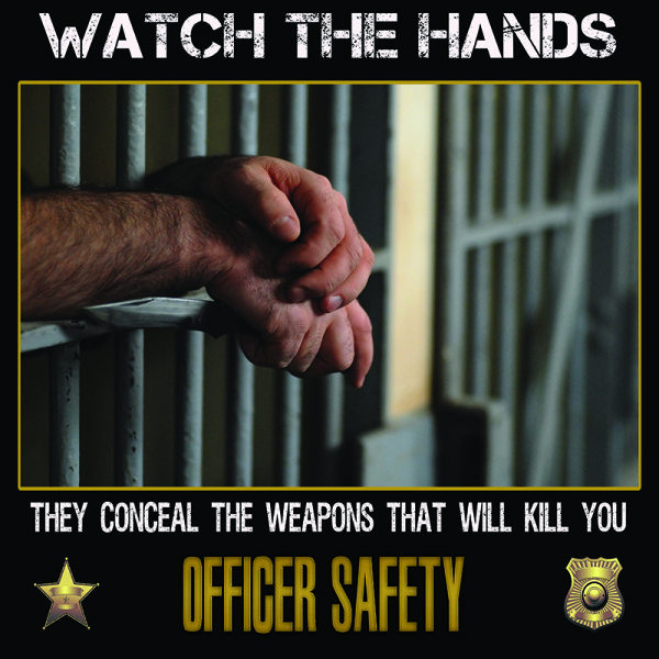 corrections officer poster