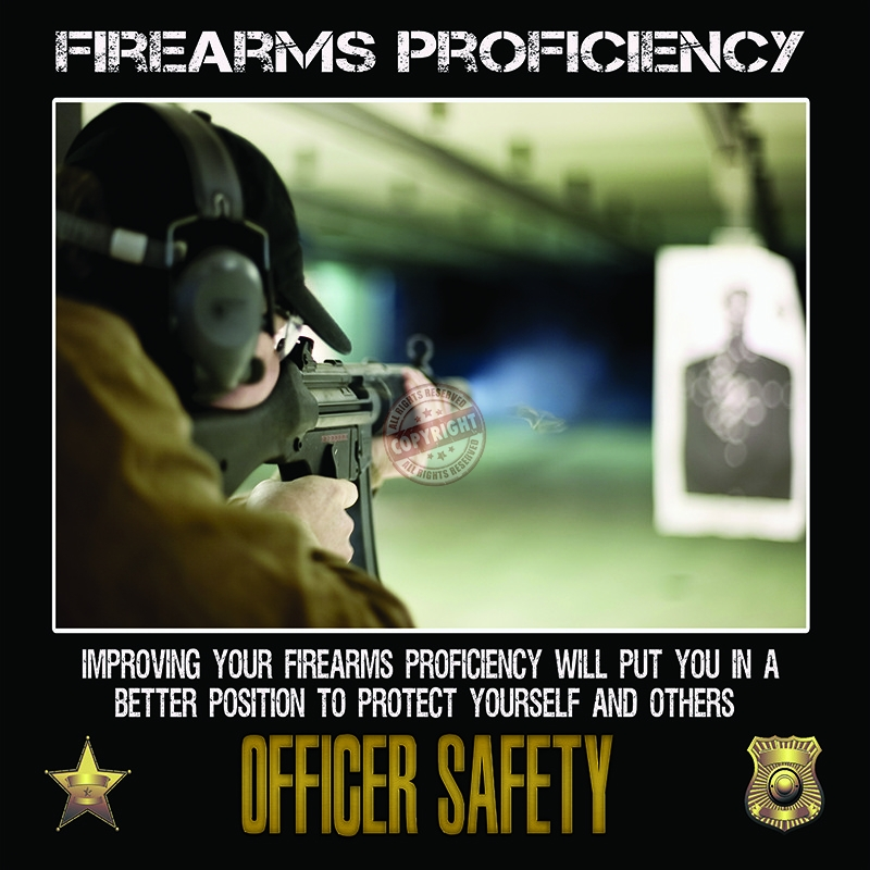 police firearms training poster