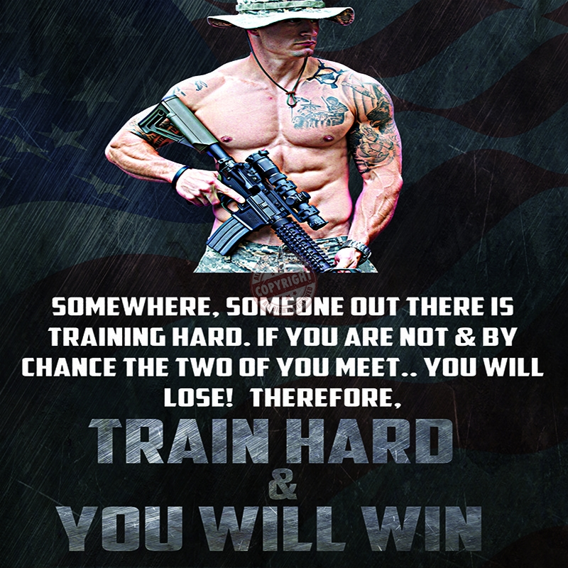 police training motivation poster