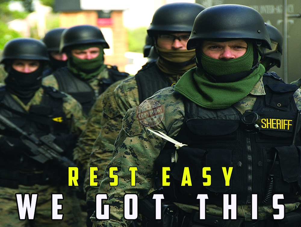 Swat Poster Rest Easy